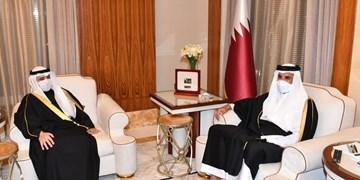 در آستانه اجلاس سران شورای همکاری؛ امیر کویت پیامی برای همتای قطری خود ارسال کرد