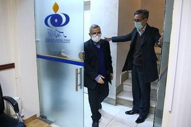 بازدید رئیس دانشگاه علمی کاربردی تهران شرق از دانشکده  فارس