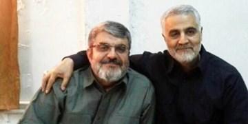 خروج حاج قاسم از بنبستها با ایمانش بود نه با ابزارش/ سردار سلیمانی گفت به سمت آمریکاییها شلیک کن!