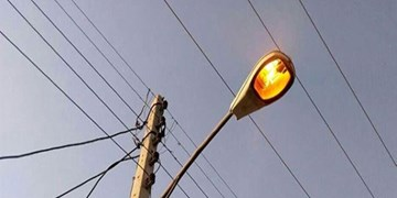تعدیل روشنایی 14 هزار چراغ معابر برای بهینه سازی مصرف در زمستان