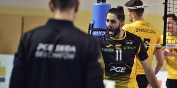 عبادیپور بهترین اسپکر رقابتهای والیبال لیگ قهرمانان اروپا