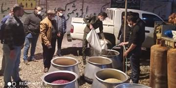 فیلم| پخت  ۵ تن آش نذری به مناسبت سالگرد شهادت سردار سلیمانی