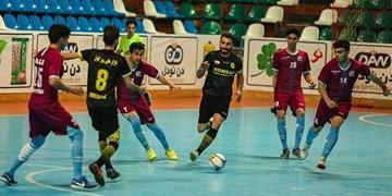 لیگ برتر فوتسال| تساوی کوثر مقابل حریف قعر جدولی