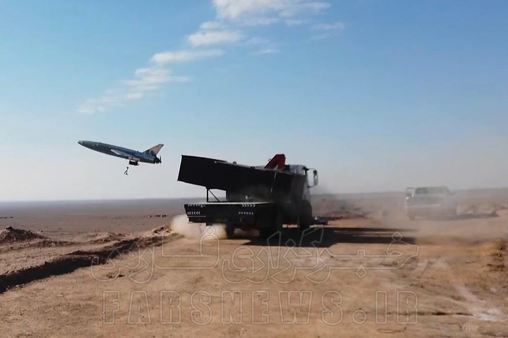 13991018000809 Test NewPhotoFree - ۷ اقدام جدید در رزمایش پهپادی ارتش/ از عملیاتی شدن تاپاتک ایرانی تا سنگ تمام کرار در رهگیری هوایی