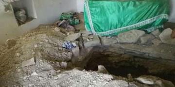 ماجرای تخریب امامزادهای در خفر برای کشف گنج/ سارقان ناکام ماندند