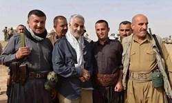 «حاج قاسم» مرد محبوب کُردها/از افشای مسائل پشت پرده داعش تا پیروزی پیشمرگان به فرماندهی سردار