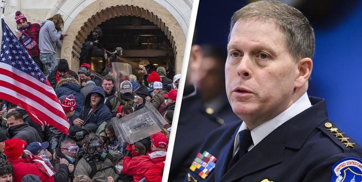 روایت متفاوت رئیس پلیس کنگره آمریکا از روز بحرانی؛ مانع درخواست نیروی پشتیبانی شدند