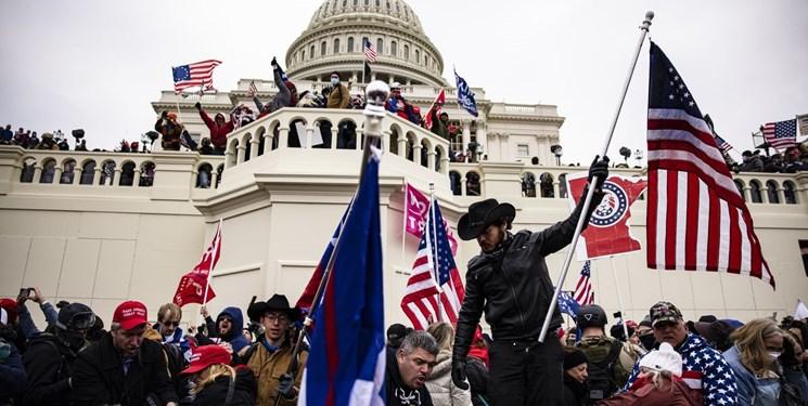 ترامپ مسئولیت حمله به کنگره را به گردن مخالفان خود انداخت