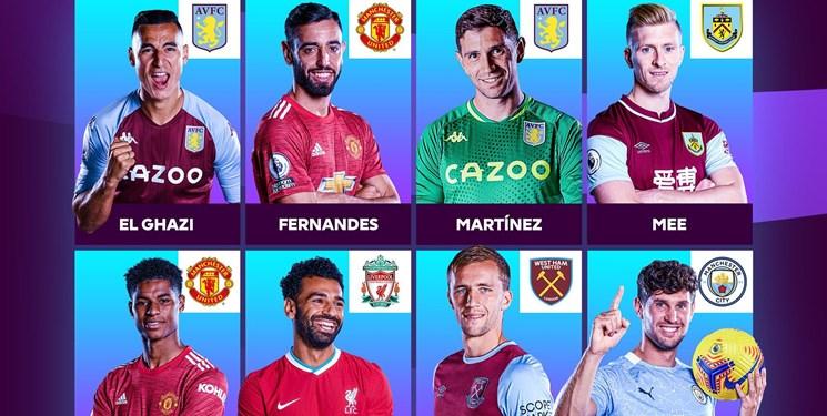نامزدهای بهترین بازیکن ماه لیگ برتر انگلیس اعلام شد