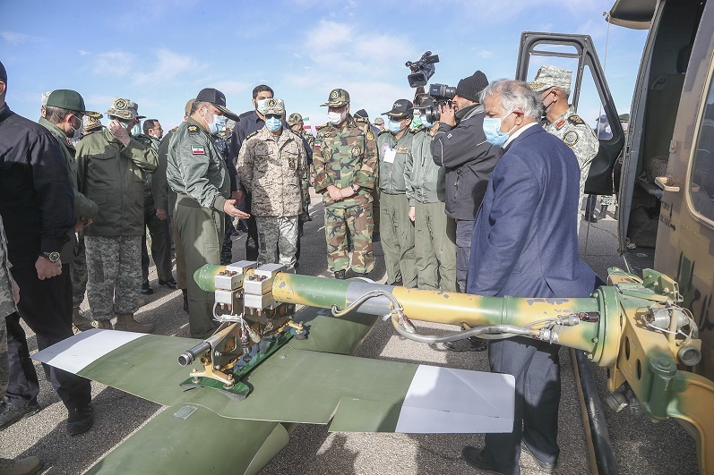 13991019000550 Test NewPhotoFree - ۷ اقدام جدید در رزمایش پهپادی ارتش/ از عملیاتی شدن تاپاتک ایرانی تا سنگ تمام کرار در رهگیری هوایی