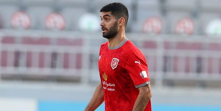کریمی در ترکیب الدحیل در فینال جام حذفی قطر+عکس