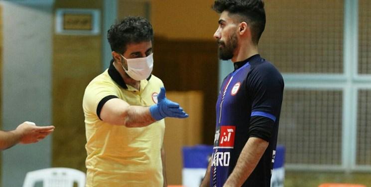 لیگ برتر والیبال| نفرزاده: فدراسیون اجازه ثبت بازیکن جدید را به ما نداد