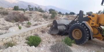 رفع تصرف ۱۵ هزار مترمربع اراضی دولتی در پارسیان