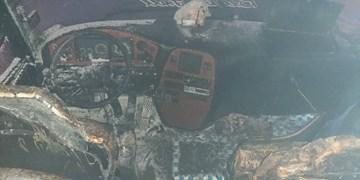 جزئیات آتش سوزی اتوبوس مسافربری ترمینال تبریز