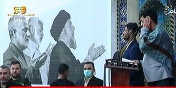 برگزاری یادبود شهادت حاج قاسم و ابومهدی در نجف اشرف  و تقدیر از ایران و رهبر انقلاب