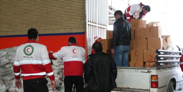 بهرهمندی خانوادههای زندانیان از کمکهای مومنانه هلال احمر زنجان