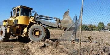 رفع تصرف 25 هزار مترمربع از اراضی ملی در عقدا