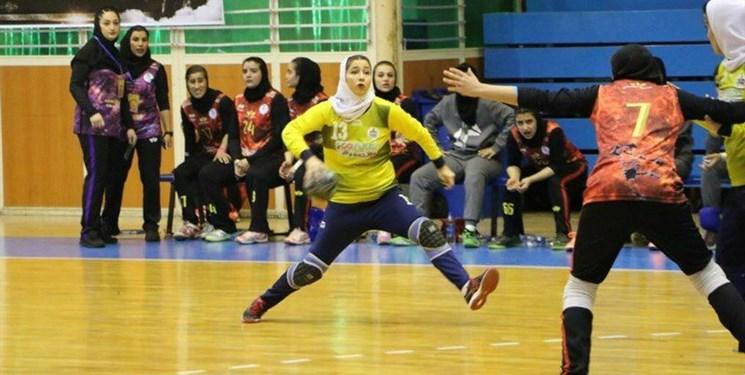 لیگ برتر هندبال بانوان  سپاهان برنده جدال با تاسیسات