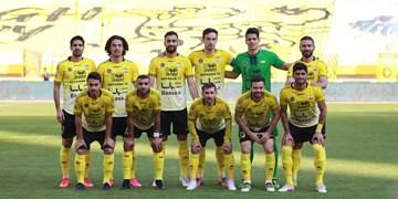 پیروزی سپاهان مقابل همشهری،تساوی آلومینیوم و سایپا / توقف پیکان در نیمه اول