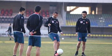 گزارش تمرین پرسپولیس  حضور مدیران باشگاه در ورزشگاه کاظمی/شجاعی هم در کارهای گروهی حاضر شد