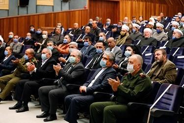 مراسم گرامیداشت مجاهدتهای سرداران شهید حاج قاسم سلیمانی و ابومهدی المهندس در شهر حُمص سوریه