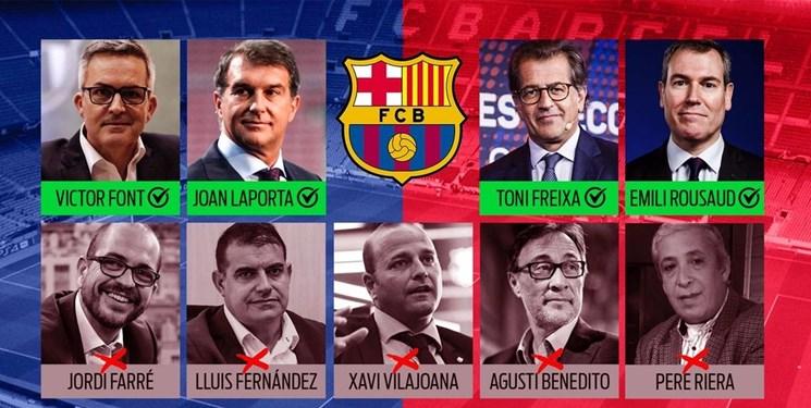 آشنایی با 4 نامزد انتخابات ریاست بارسلونا