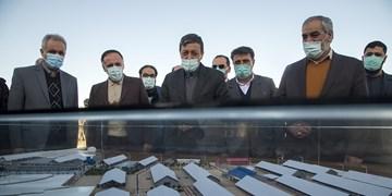 مراسم افتتاح۵ پروژه دامپروری  بنیاد مستضعفان در چهار استان