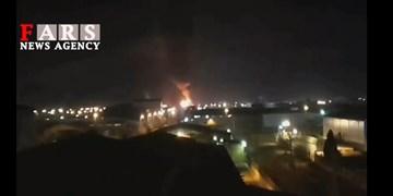 فیلم| نخستین تصاویر از انفجار و آتشسوزی در شهرک صنعتی «لیا» قزوین