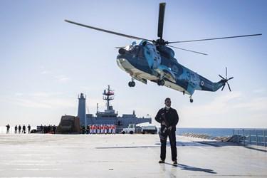 الحاق ناوبندر مکران به ناوگان نیروی دریایی ارتش جمهوری اسلامی ایران در منطقه سوم نیروی دریایی در کنارک