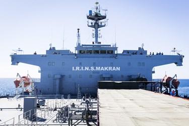 ناوبندر مکران  در منطقه سوم نیروی دریایی در کنارک