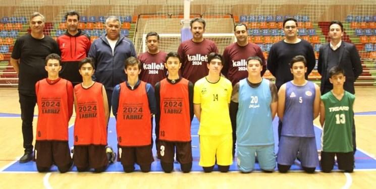 آغاز اردوی تیم ملی بسکتبال جوانان در تبریز