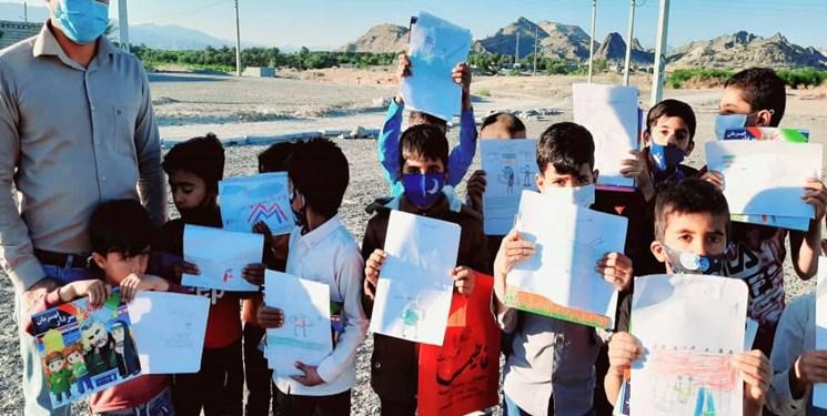 وقتی یاد سردار قهرمان به میان دانش آموزان روستای پشته گیش رودان میرسد