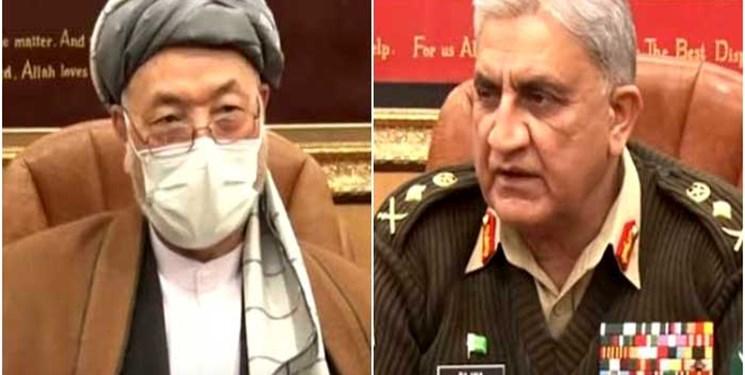 رایزنی هیأت افغانستان با فرمانده ارتش پاکستان