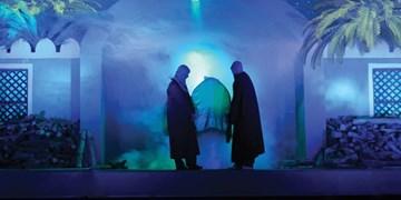 عزاداری فاطمیه به سبک «نگین شکسته» در مشهد