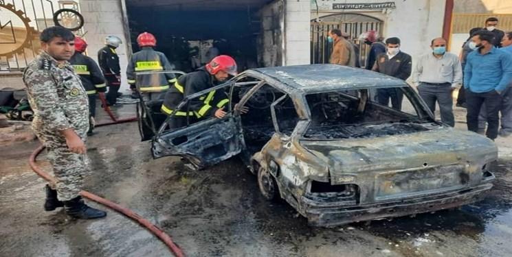 آتشسوزی تعویض روغنی در بوشهر یک قربانی گرفت