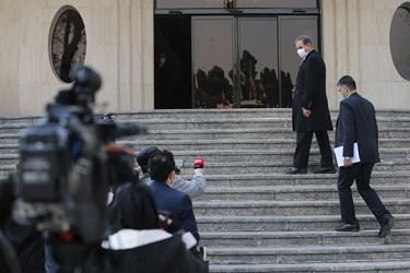 اسحاق جهانگیری معاون اول رئیس جمهور پس از پایان جلسه هیأت دولت / ۲۴ دی ۹۹