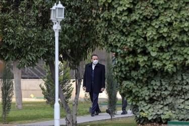 محمود واعظی رییس دفتر رییسجمهور پس از پایان جلسه هیأت دولت / ۲۴ دی ۹۹
