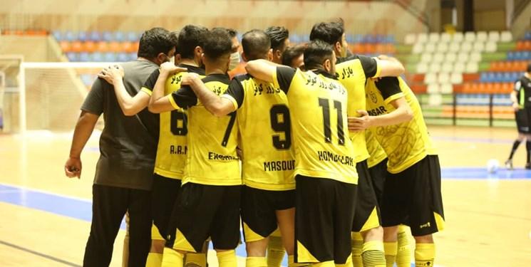 لیگ برتر فوتسال| پیروزی کوثر اصفهان با گلزنی دروازهبان