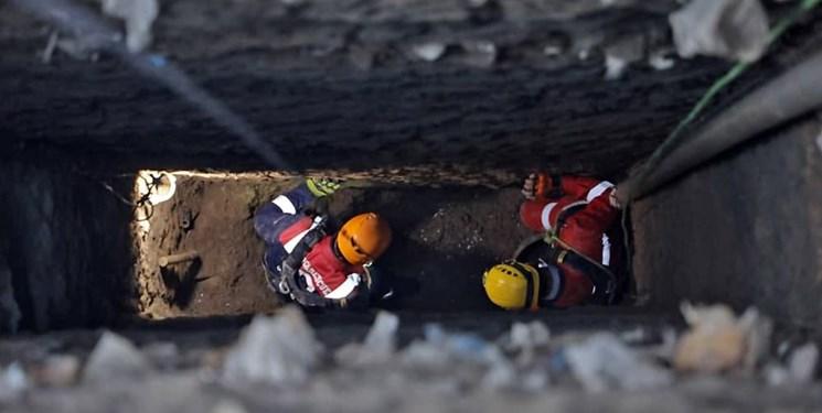 مرگ تلخ مقنی جوان بر اثر ریزش چاه