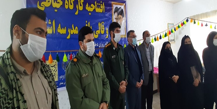 اقدامات قرارگاه پیشرفت و آبادانی سپاه خوزستان در لالی
