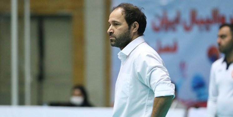 لیگ برتر والیبال| تابشنژاد: کم اشتباهتر از حریف بودیم/هدفمان حضور در پلیآف است