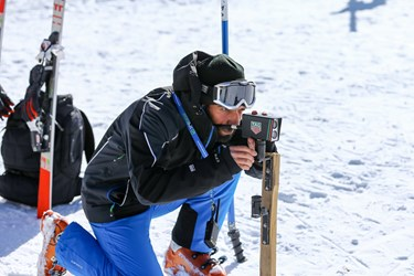 تیم پشتیبانی در مسابقات بینالمللی اسنوبرد جانبازان و معلولین