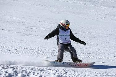 مسابقات بینالمللی اسنوبرد جانبازان و معلولین/ پیست اسکی دیزین