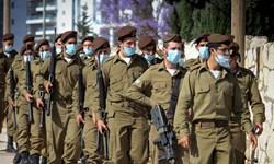 ثبت بالاترین میزان ابتلا به کرونا در میان نظامیان صهیونیست به رغم واکسیناسیون