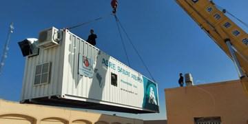 نصب سومین دستگاه اکسیژن ساز در بیمارستان ضیایی اردکان
