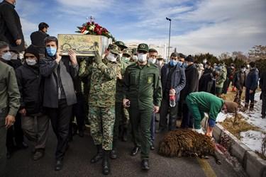 استقبال از پیکر مطهر 4شهید گمنام دفاع مقدس