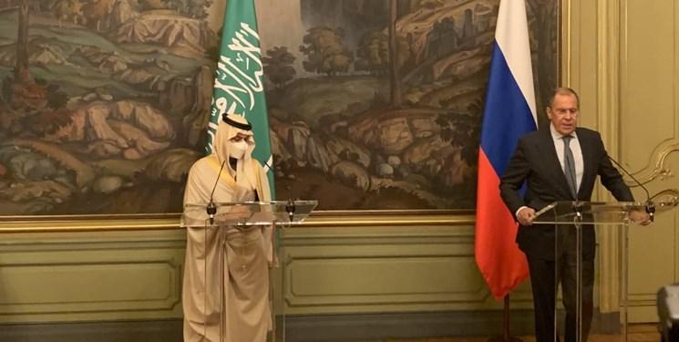 اتهامزنی وزیر سعودی به ایران در نشست خبری با لاوروف