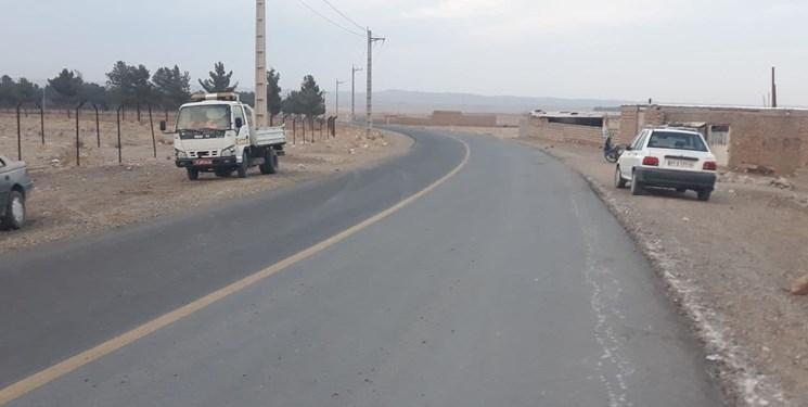 عملیات احداث راه میامی- جیلان- کلاتهخیج بهرهبرداری شد