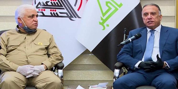 نخست وزیر عراق با فرماندهان ارشد الحشد الشعبی دیدار کرد