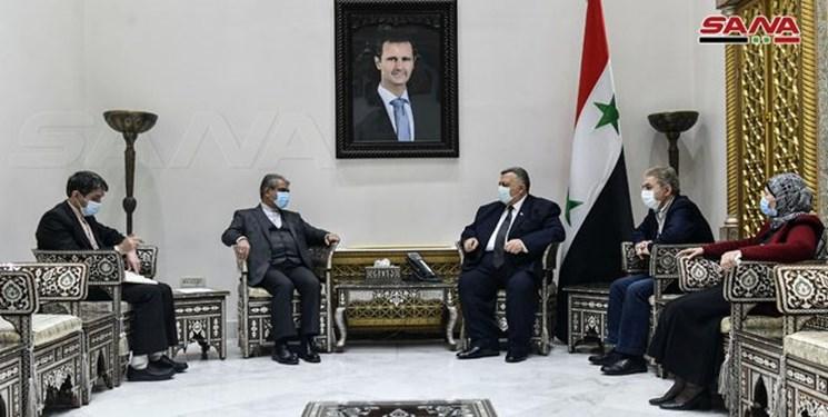 رئیس پارلمان سوریه: روابط با ایران عمیق و محکم است